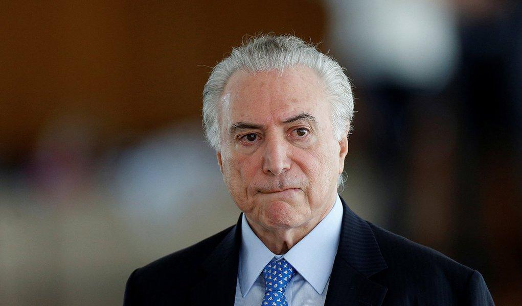 O presidente brasileiro, Michel Temer, durante café da manhã com jornalistas em Brasília, no Brasil 22/12/2017 REUTERS/Adriano Machado
