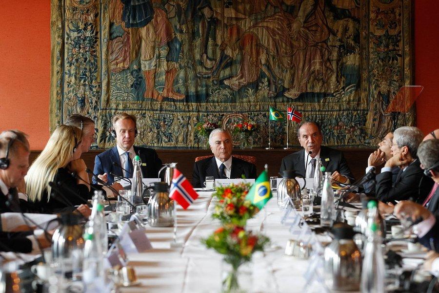 22/06/2017- Oslo- Noruega- Encontro com investidores noruegueses. Palavras do Ministro das Relações Exteriores, Aloysio Nunes. Foto: Beto Barata/PR/FotosPúblicas