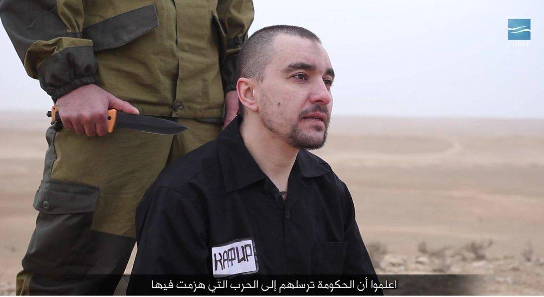 Suposto espião russo é morto por extremistas do Estado Islâmico na Síria, EI, Síria, terrorismo