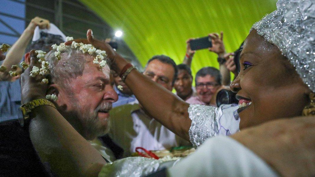 Lula participa do lançamento da terceira fase do Memorial da Democracia, em Salvador. Foto Ricardo Stuckert