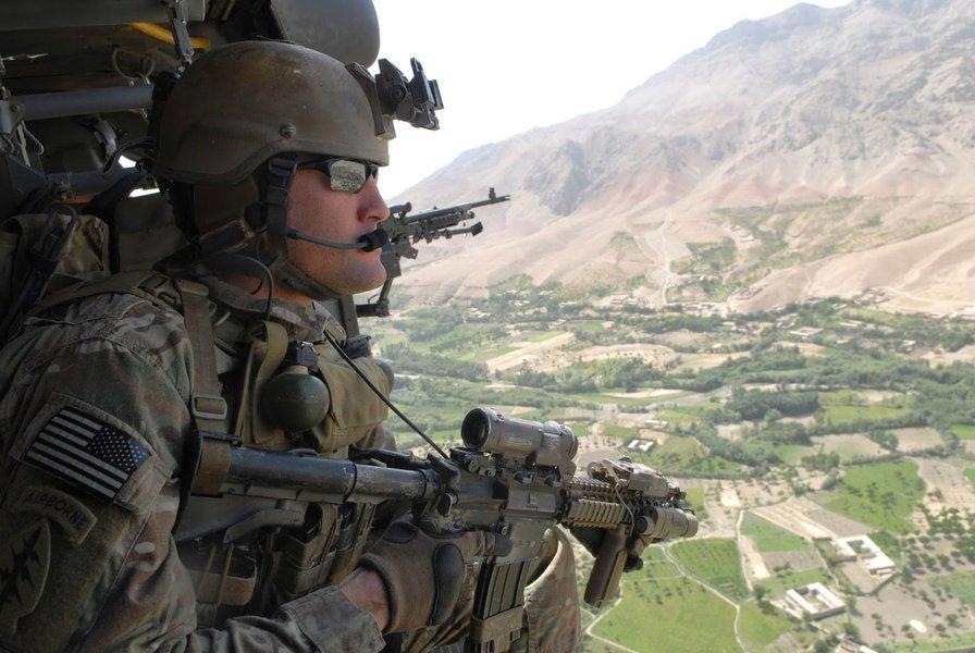 Soldado das tropas especiais dos EUA