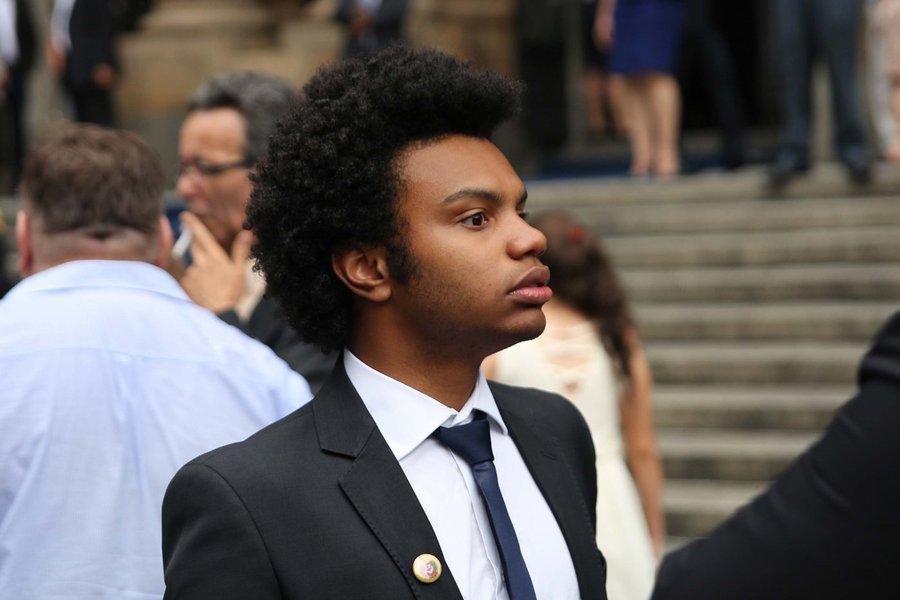 Vereador de São Paulo Fernando Holiday (DEM-SP) e membro do Movimento Brasil Livre (MBL)