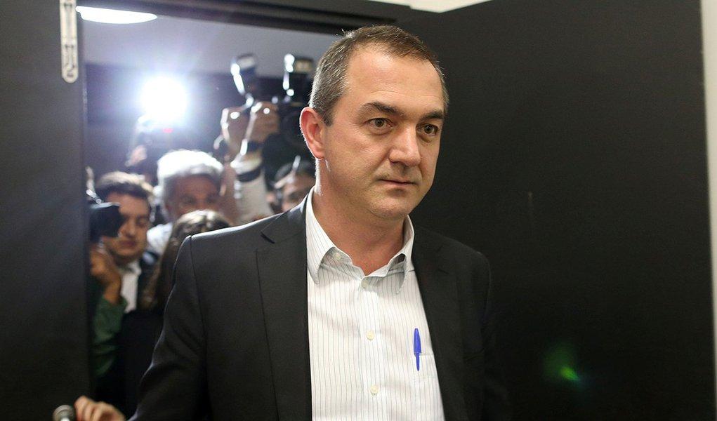 O empresário brasileiro Joesley Batista após prestar depoimento em Brasília 07/09/2017 REUTERS/Adriano Machado