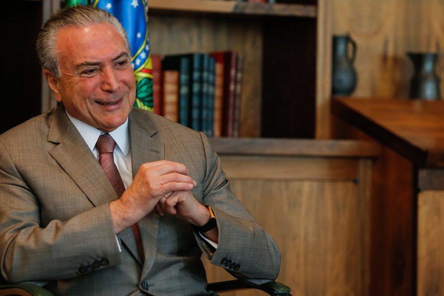 (Brasília - DF, 15/05/2017) Presidente Michel Temer durante entrevista para o programa Frente a Frente da Rede Vida. Foto: Marcos Corrêa/PR
