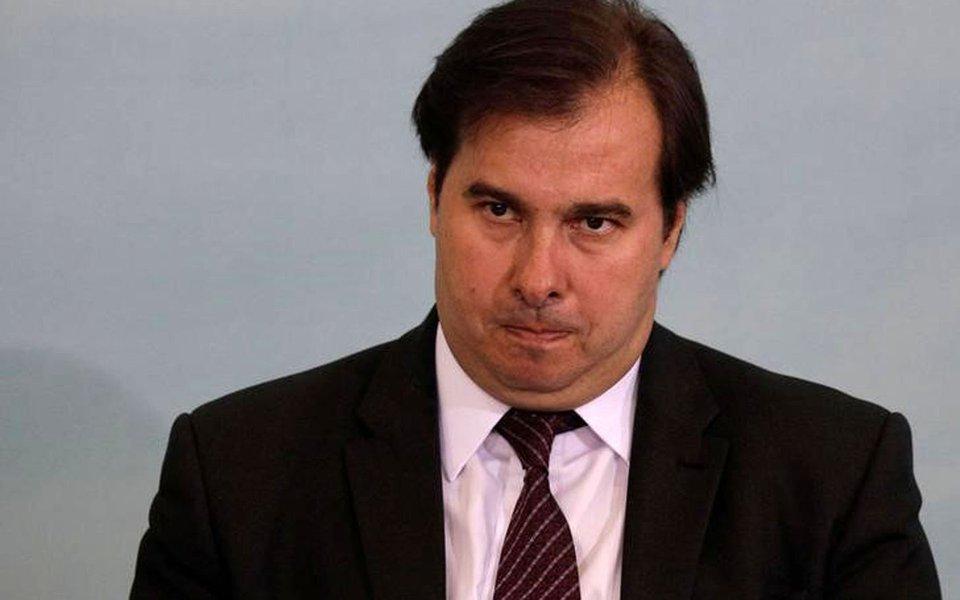 Presidente da Câmara dos Deputados, Rodrigo Maia, durante cerimônia no Palácio do Planalto em Brasília, Brasil 7/6/2017 REUTERS/Ueslei Marcelino