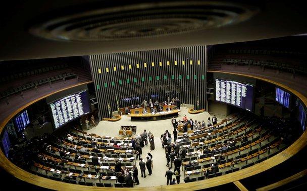Vista geral do plenário da Câmara em Brasília 20/9/2017 REUTERS/Ueslei Marcelino