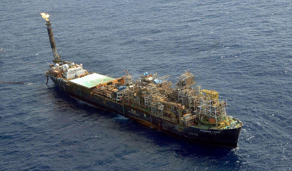 plataforma petroleo pré-sal