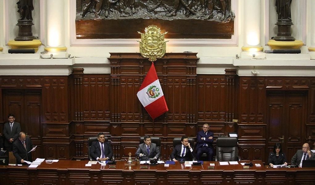Congresso peruano pede impeachment do presidente Pedro Pablo Kuczynski 15/12/2017 REUTERS/Guadalupe Pardo