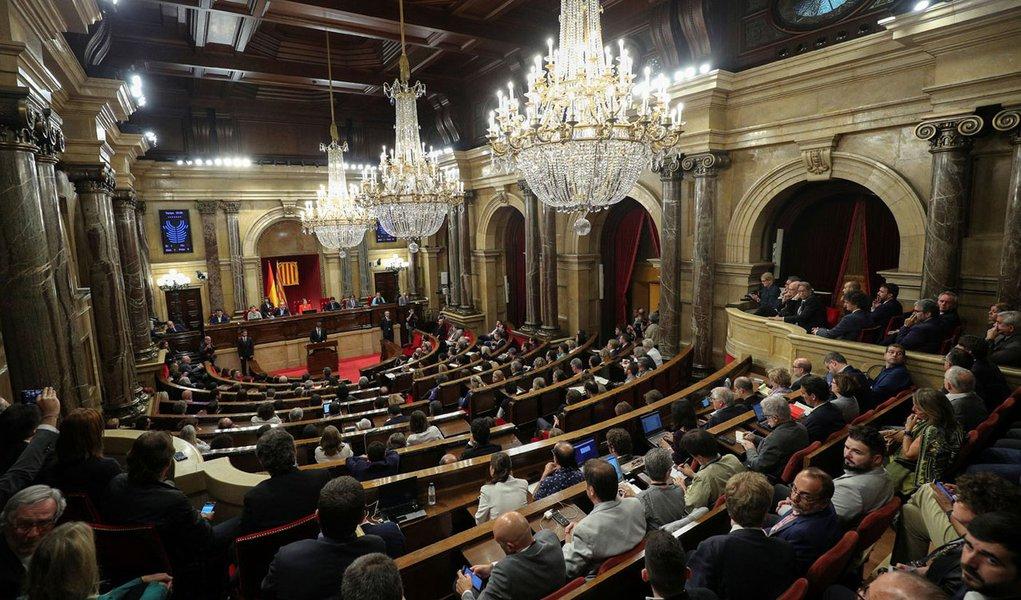 Visão geral do Parlamento regional da Catalunha, em Barcelona 10/10/2017 REUTERS/Albert Gea