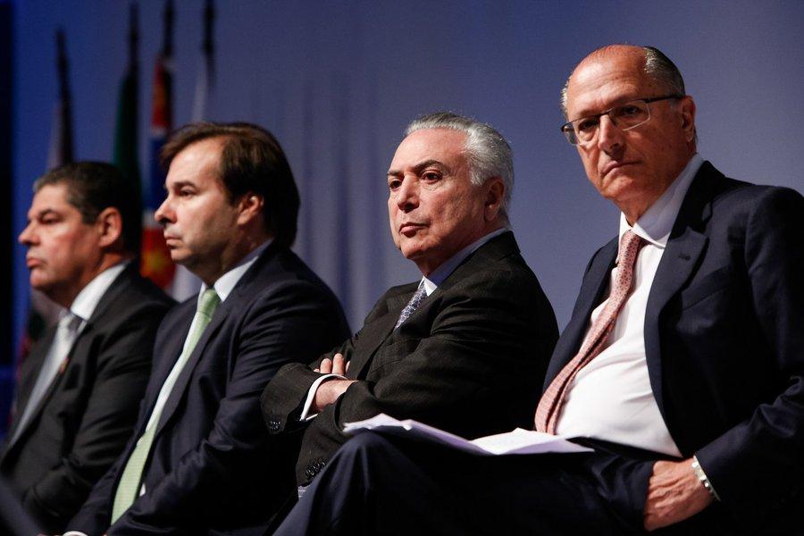 (São Paulo - SP, 08/08/2017) Cerimônia de abertura do 27º Congresso & ExpoFenabrave. Foto: Alan Santos/PR