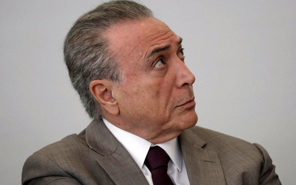 Presidente Michel Temer 26/09/2017 REUTERS/Ueslei Marcelino