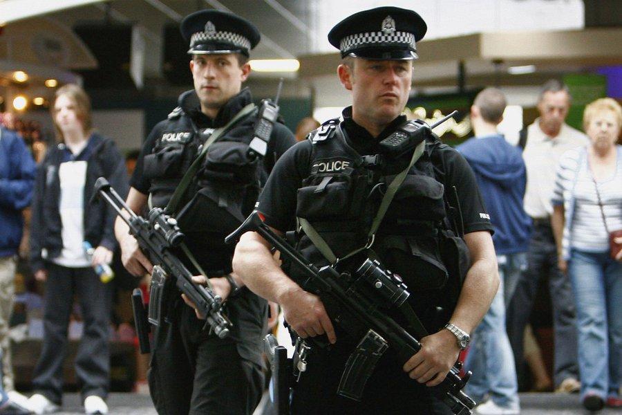 Polícia britânica antiterrorismo