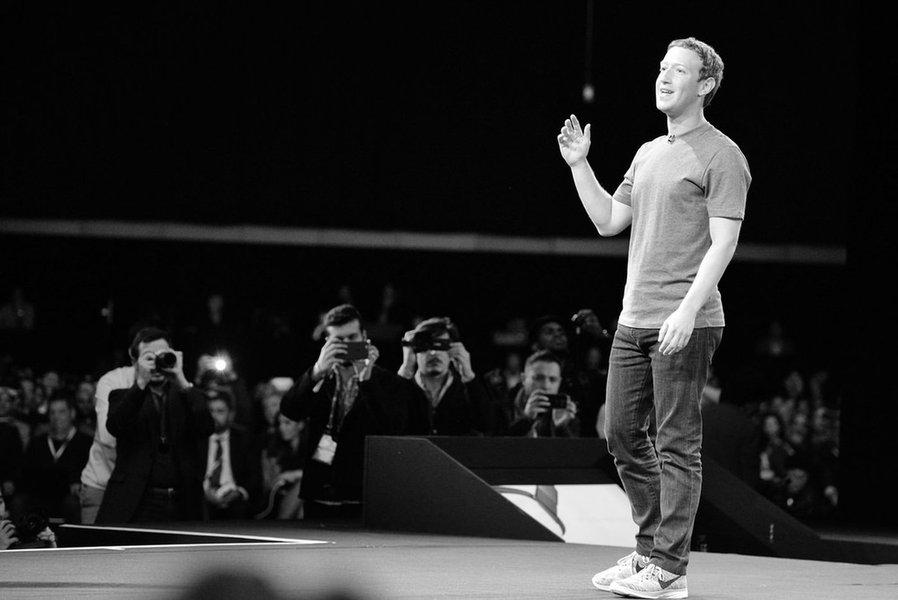 Mark Zuckerberg do Facebook. Foto: Alessio Jacona/Creative Commons/Flickr