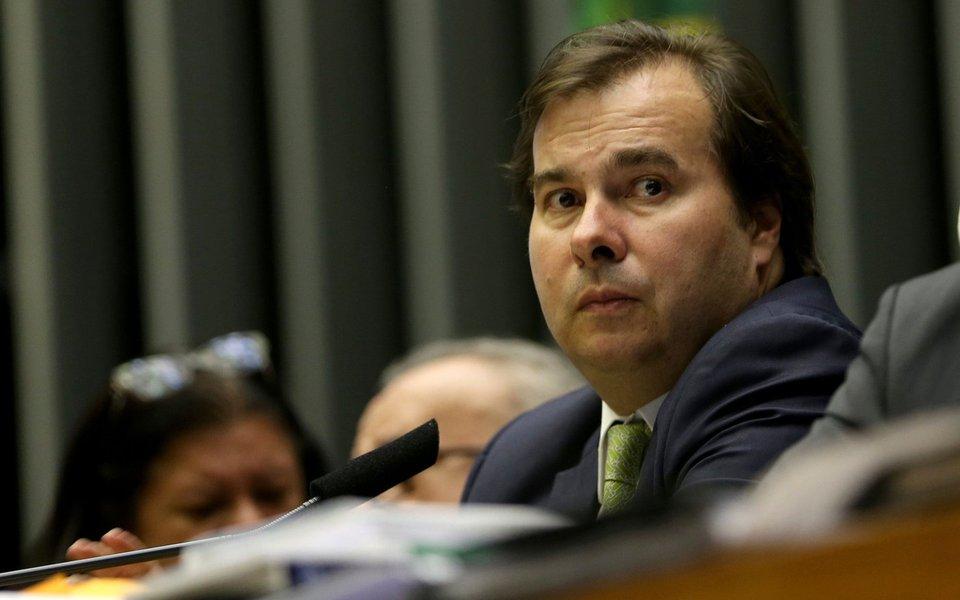 27/09/2017- Brasília - Presidente da Câmara dos Deputados, Rodrigo Maia, durante votação em plenário de destaques e MP sobre parcelamento de dívidas Foto: Wilson Dias/Agência Brasil