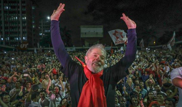 Grande ato de encerramento da caravana Lula Pelo Brasil no Espírito Santo e Rio de Janeiro na UERJ.