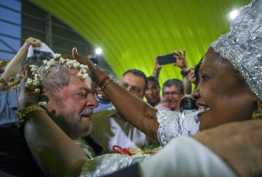 Lula participa do lançamento da terceira fase do Memorial da Democracia, em Salvador. Foto Ricardo Stuckert