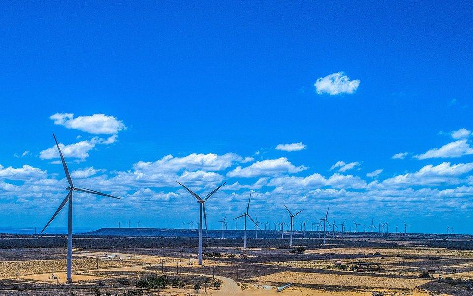 Lula visita o parque de geração de energia eólica de Marcolândia, no Piauí. Foto: Ricardo Stuckert