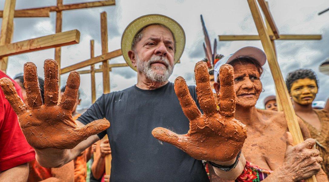 Lula caravana em Minas