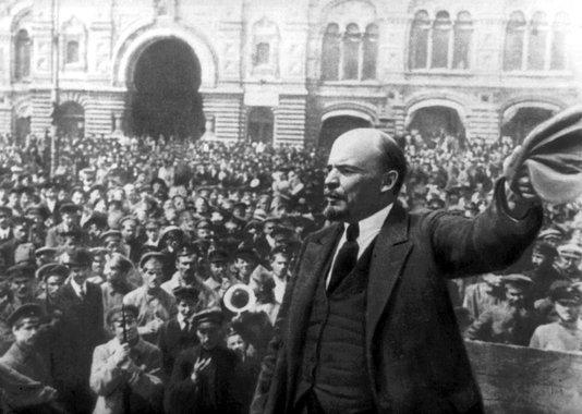 Revolução russa, Lênin
