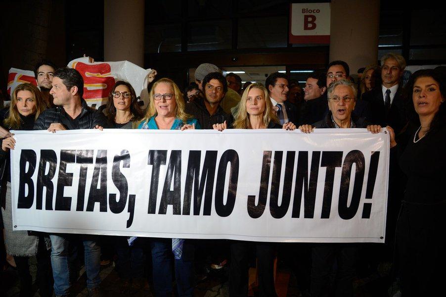 Protesto em defesa do juiz Marcelo Bretas