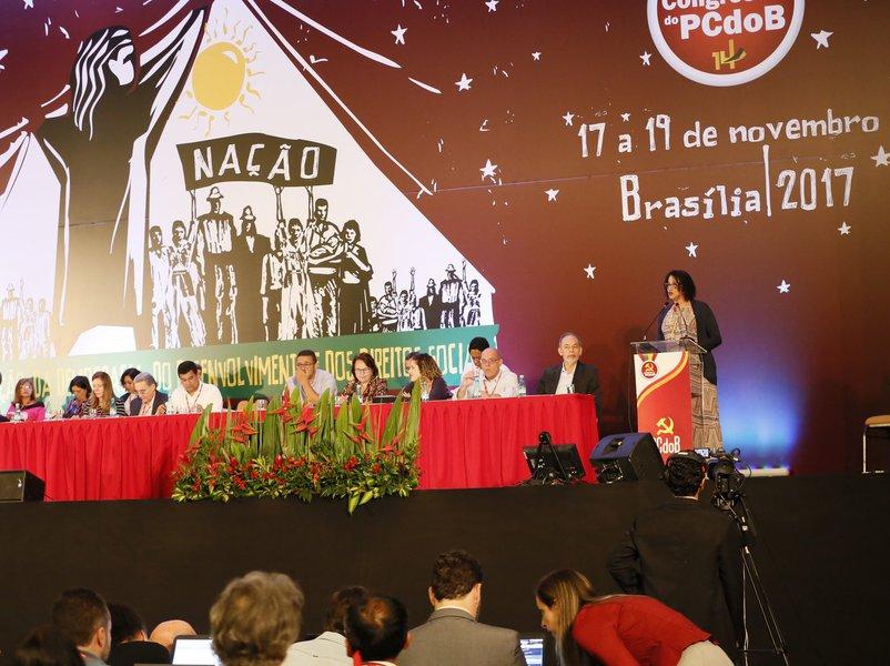 Congresso do PCdoB (17 a 19 de novembro de 2017), em Brasília