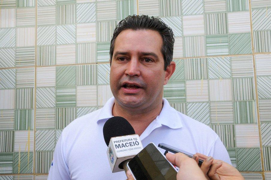 Maurício Quintela - Ministro dos Transportes Foto:Marco Antônio/Secom Maceió