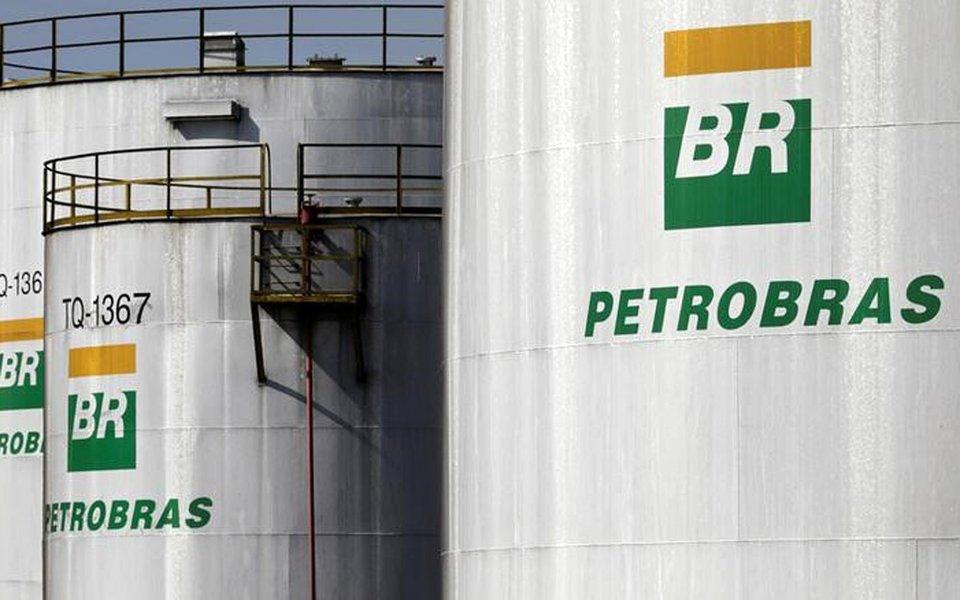 Logo da Petrobras na refinaria da companhia em Paulínia, no Estado de São Paulo, Brasil 01/07/2017 REUTERS/Paulo Whitaker