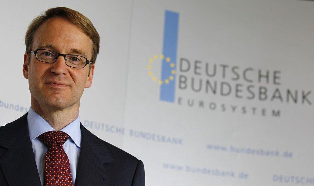 presidente do Bundesbank, Jens Weidmann REUTERS/Kai Pfaffenbach (GERMANY - Tags: BUSINESS PROFILE)