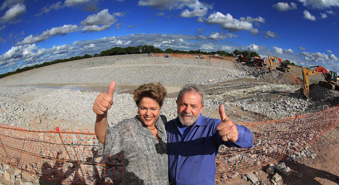 Lula Dilma São Francisco