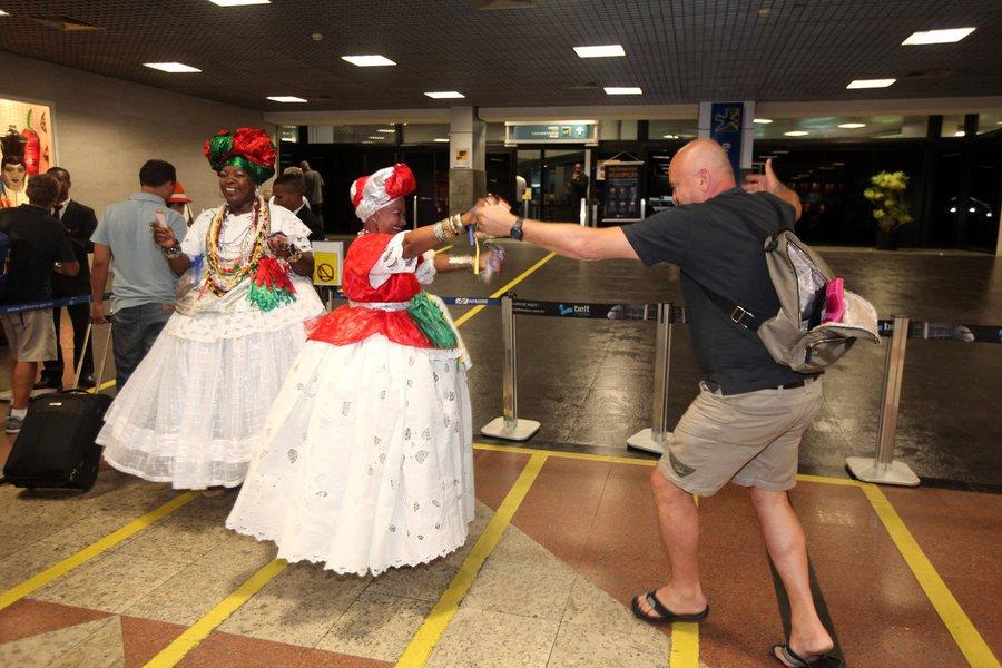 """Operação """"Até Breve"""" da Bahiatursa no Aeroporto . Fotos: Pedro Moraes/GOVBA"""