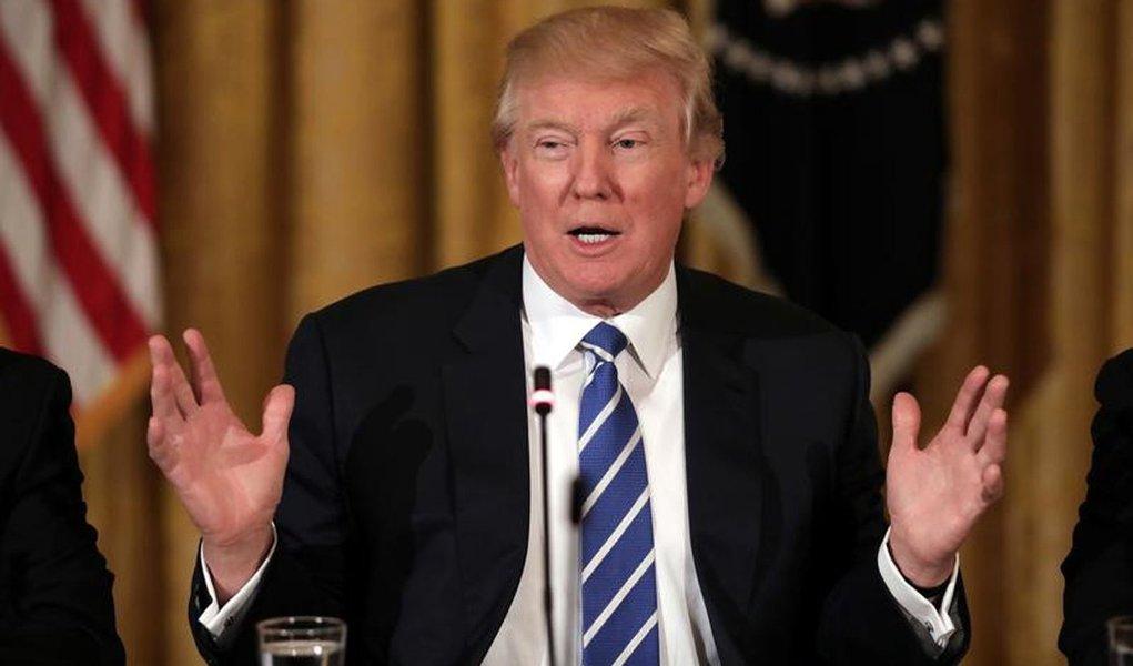 Presidente dos EUA, Donald Trump. 07/03/2017 REUTERS/Carlos Barria