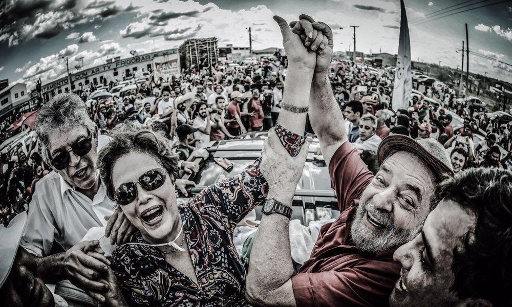 Lula e Dilma na transposição