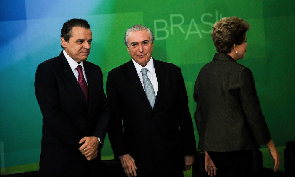 Henrique Alves Michel Temer