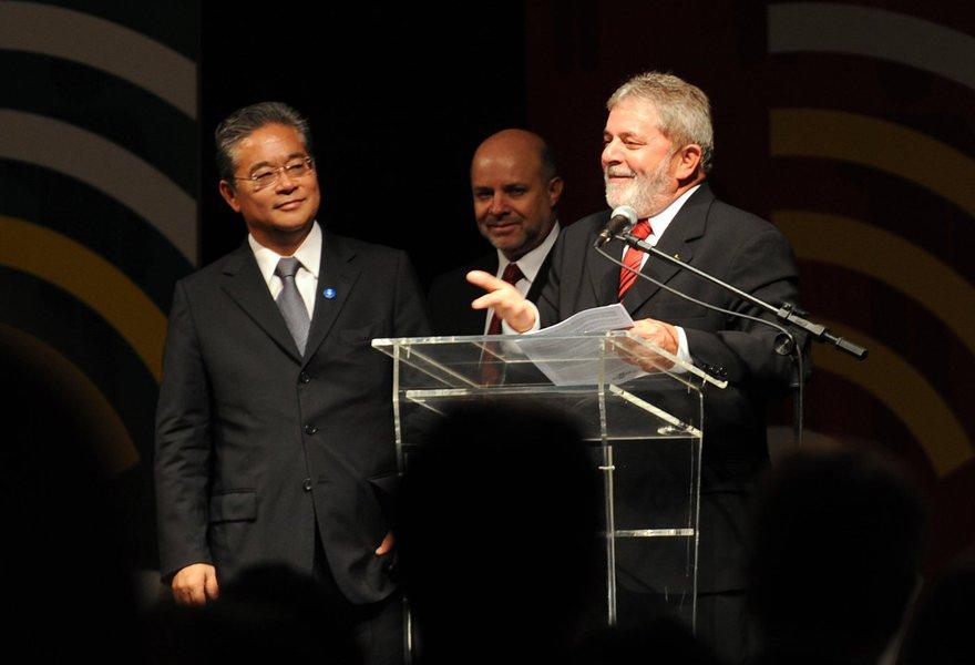 Paulo Okamotto e Lula