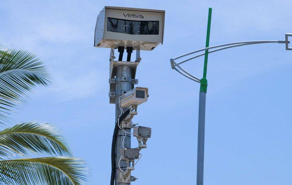 Fiscalização Eletrônica Na Ponta Verde Foto:Marco Antônio/Secom Maceió