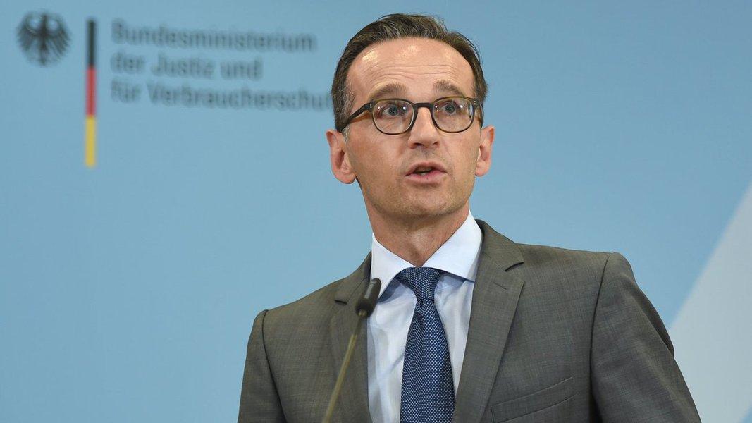 Heiko Maas, ministro da justiça da Alemanha