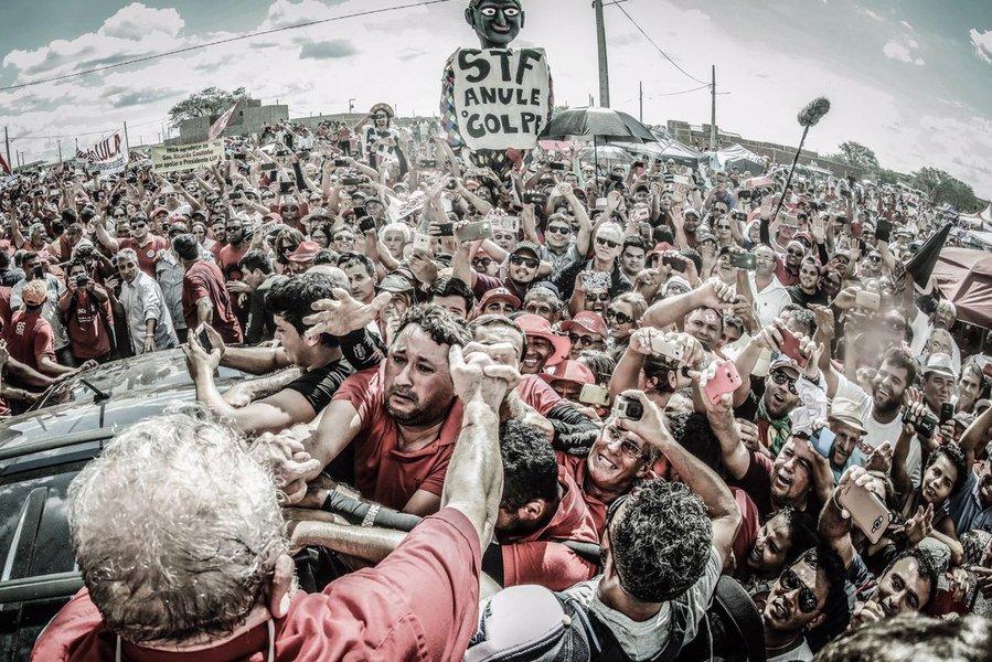Lula em Monteiro