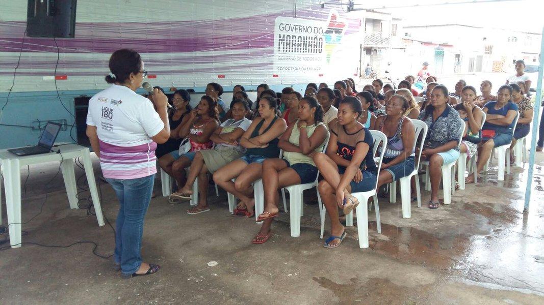 Serviços oferecidos pela Carreta da Mulher Maranhense. Foto: Divulgação