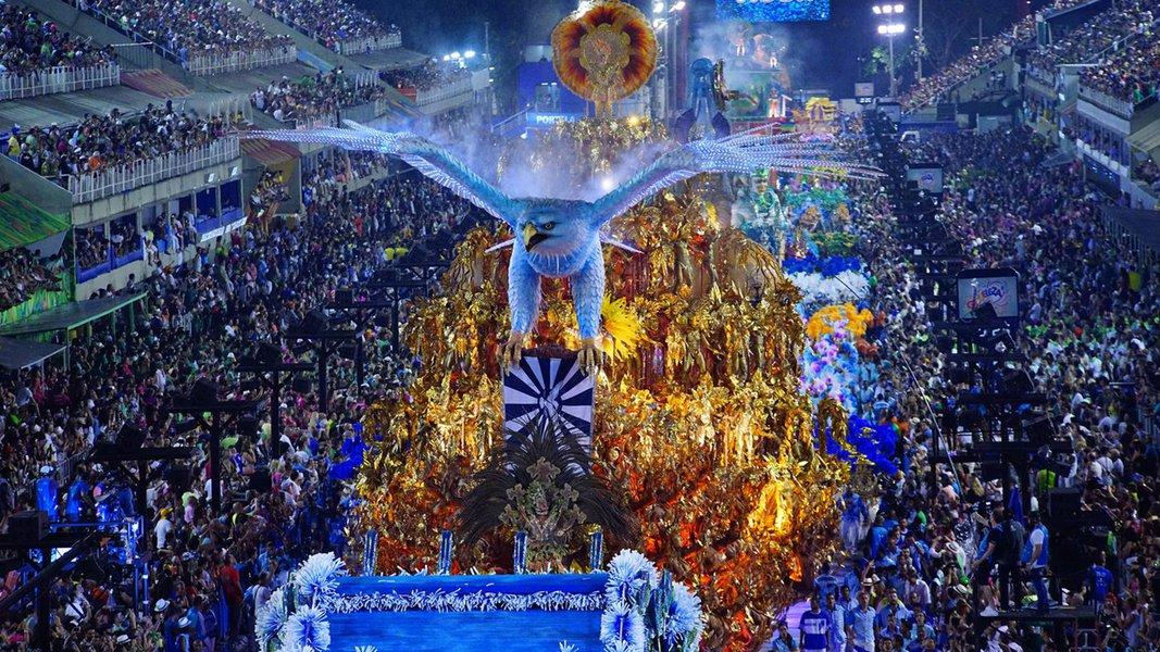 28/07/2017- Rio de Janeiro- RJ, Brasil- Carnaval 2017 – Desfile na Sapucaí – Portela - Fernando Grilli / Riotur