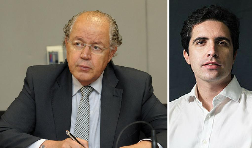 Luiz Carlos Hauly e Bernardo Mello Franco