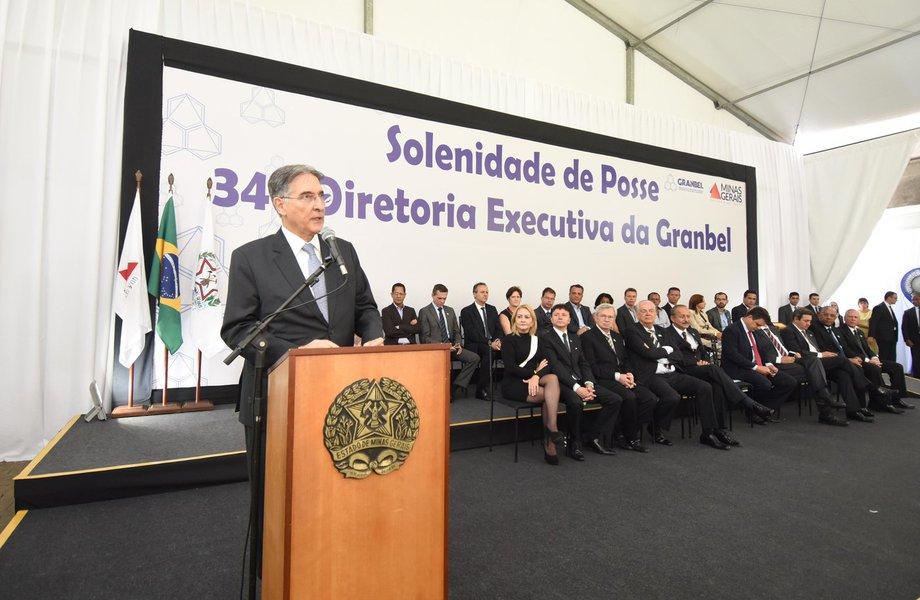 Governador Fernando Pimentel participa da posse da nova diretoria da Granbel. 15-03-2017- Palácio da Liberdade Foto: Manoel Marques/imprensa-Mg