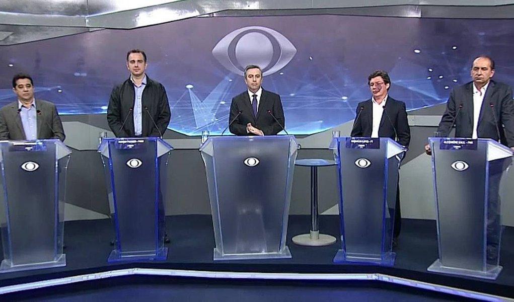Band realizou debate entre candidatos à prefeitura de BH