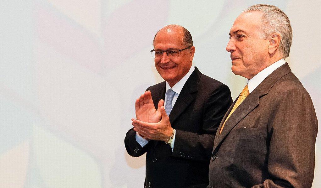 São Paulo - SP, 04/07/2016. Presidente em exercício Michel Temer durante Abertura Oficial do Global Agribusiness Forum 2016. Foto: Beto Barata/PR