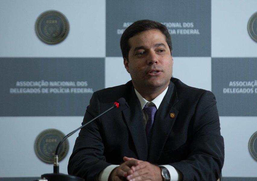 presidente da Associação Nacional dos Delegados de Polícia Federal (ADPF), Carlos Eduardo Sobral
