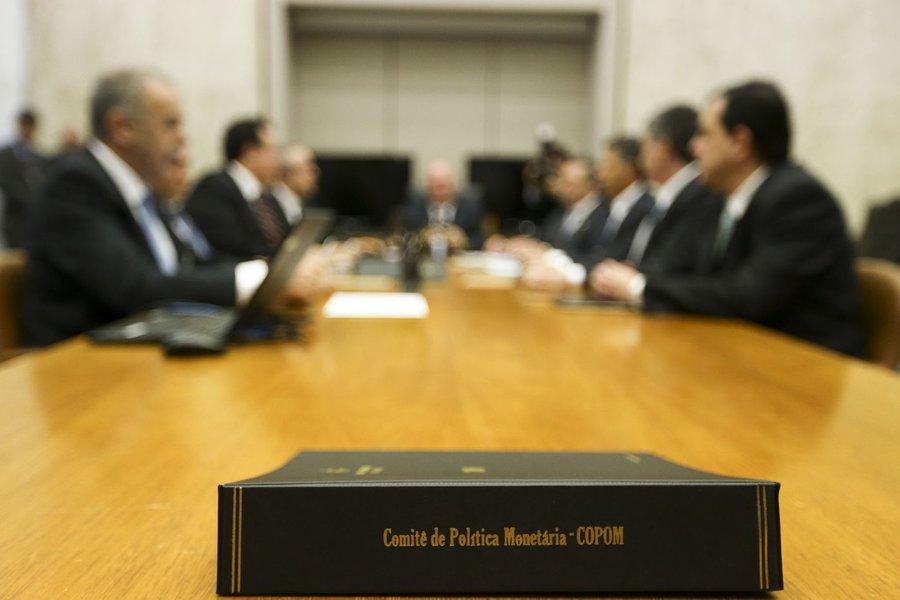 Brasília - Começa a quinta reunião do ano do Comitê de Política Monetária (Copom) (Marcelo Camargo/Agência Brasil)