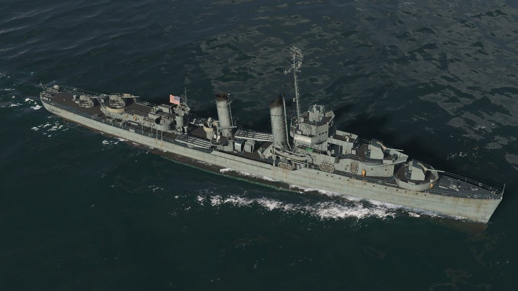 Destróier dos EUA no Golfo Pérsico