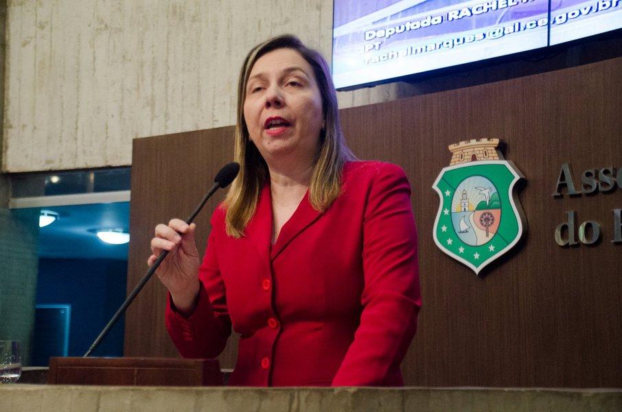 4 sessao da assemleia legislativa do Ceara. Deputada Raquel Marques, PT.