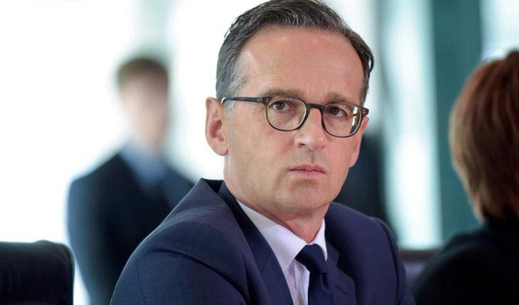 Ministro da Justiça da Alemanha, Heiko Maas. 284/08/2016 REUTERS/Stefanie Loos