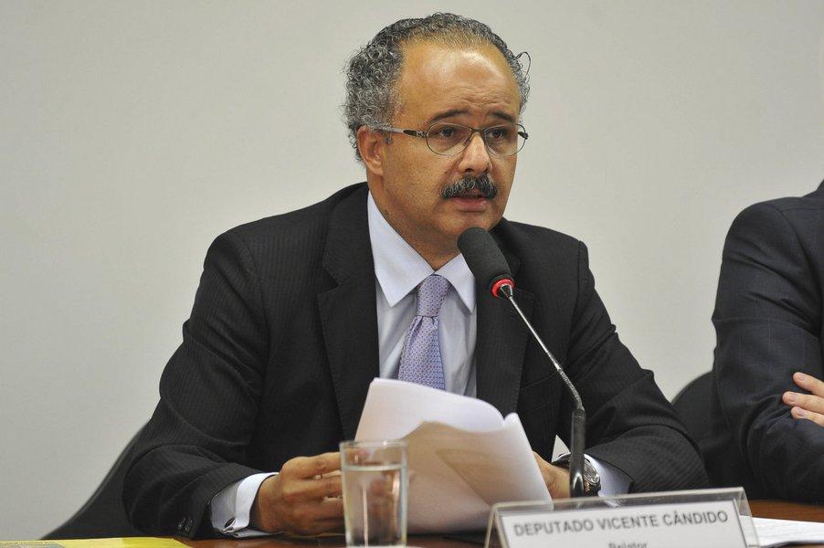 Deputado Vicente Cândido, PT