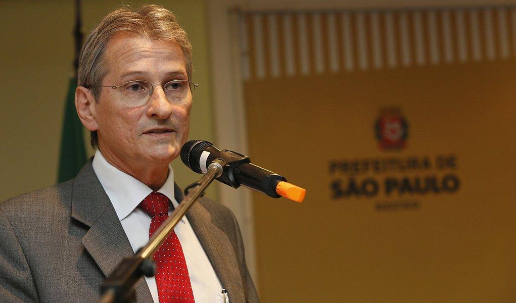 São Paulo 2015-03-04 Solenidade de Transmissão do Cargo de Secretário Municipal de Gestão ao Senhor Valter Correia da Silva